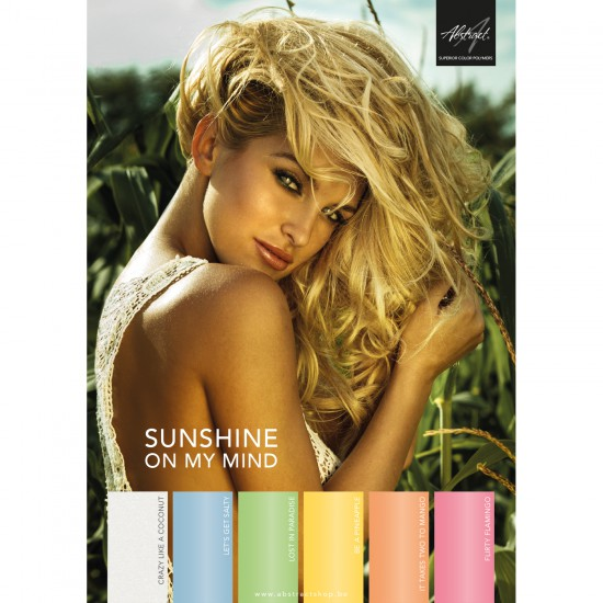 Poster A3 Sunshine On My Mind Collection