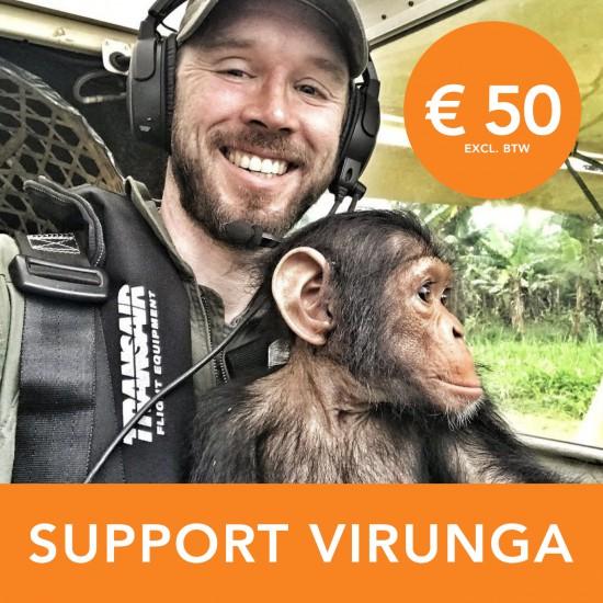 Donatie: Steun Virunga AIRWING € 50