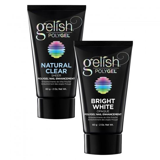 Natural Clear 60ml + GRATIS Bright White 60ml PolyGel